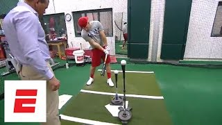 Download Mike Trout tells Alex Rodriguez about pregame routine and how his dad influenced his game | ESPN Video