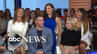 Download The cast of 'Wonder Woman' takes over 'GMA' Video