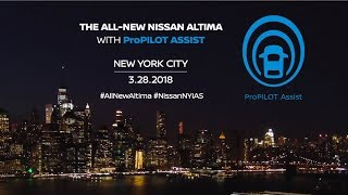 Download All-new Nissan Altima available with ProPILOT Assist Video
