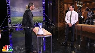 Download Random Object Football Toss with Blake Shelton Video