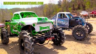 Download MEGA TRUCK RACING AT RUSH OFFROAD PARK Video