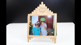 Membuat Bingkai Foto Sederhana Dengan Stik Es Krim Free Download