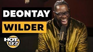Download Deontay Wilder Calls Anthony Joshua A 'Coward', Talks Tyson Fury, & Shares Secrets In The Ring Video