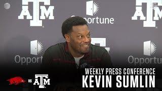 Download Arkansas Weekly Press Conference | Kevin Sumlin 9.19.17 Video