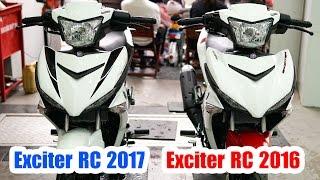 Download Yamaha Exciter 150 RC 2017 Trắng Đỏ vs Exciter 150 RC 2016 Trắng Đỏ ▶ So sánh tổng quan Video