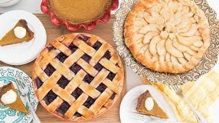 Download 3 DELICIOUS THANKSGIVING PIES Video