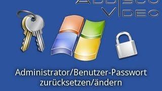 Download Windows: Administrator/Benutzer-Passwort zurücksetzen/ändern Video