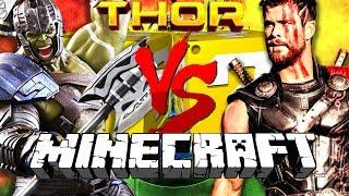 Download Minecraft: THOR RAGNAROK LUCKY BLOCK CHALLENGE   BUILD A SUPERHERO WORKSHOP Video