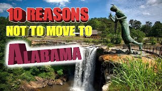 Download Top 10 reasons NOT to move to Alabama. Birmingham is on the list and The Crimson Tide. Video