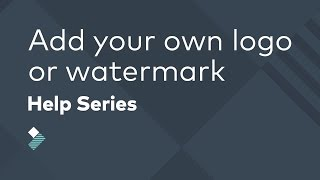 Download How to Add Your Own Logo or Watermark to a Video Video