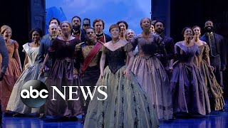 Download Broadway's 'Frozen' cast performs 'For the First Time in Forever' Video