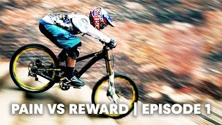 Download Downhill MTB injury risks are real. | Pain vs Reward E1 Video