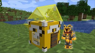 Download Minecraft LUCKY BLOCK HOUSE MOD / SPAWN LUCKY BLOCK HOUSES AND SURVIVE !! Minecraft Video