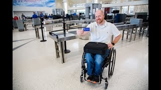 Download TSA Cares: What to Expect when Traveling with a Mobility Aid Video