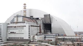 Download Watch as Chernobyl nuclear site is encased in a massive new tomb Video