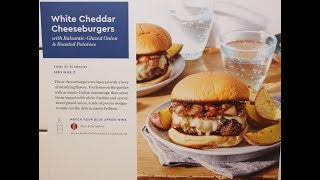 Download Blue Apron White Cheddar Cheeseburgers + Box Opening Video
