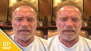 Download Arnold Schwarzenegger nennt Donald Trump ″nasse Nudel″ Video