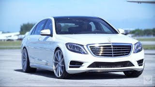 Download 2014 Mercedes-Benz S550 on 22″ Vossen CVT | Executive Package (W222) Video