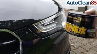 Download Scheinwerfer mit Soft99 Fusso Coat versiegeln / Wachs auf Autoscheinwerfer auftragen Video