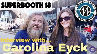Download Superbooth 2018: Carolina Eyck - After-show Interview Video