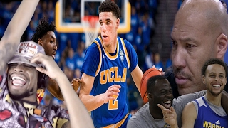 Download LONZO BALL DAD CHALLENGES CURRY TO 1 ON 1! LONZO BALL vs USC HIGHLIGHTS + DAD RANT REACTION Video
