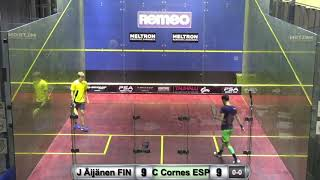Download Remeo Open 2018: Carlos Cornes ESP - Jami Aijanen FIN Video