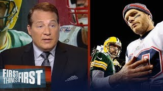 Download Eric Mangini on why Tom Brady is better than Aaron Rodgers | NFL | FIRST THINGS FIRST Video
