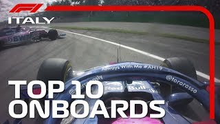 Download Crazy Collisions, Epic Duels And The Top 10 Onboards | 2019 Italian Grand Prix Video