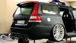 Download Mattssons Volvo v70 II rwd t6 twinturbo elmia 2017 Video