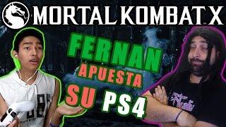 Download FERNAN ME APUESTA SU PS4 - MORTAL KOMBAT X con Fernanfloo Video