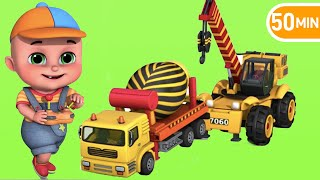 Download Surprise Eggs | Construction Truck Toys for Kids | Surprise Eggs videos from Jugnu kids Video