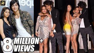 Download Suhana Khan's Boyfriend Ahaan Pandey CAUGHT Drunk in front of Mother Video