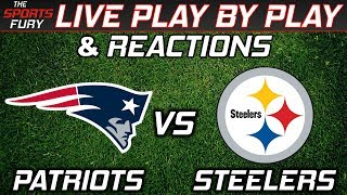 Download Patriots vs Steelers   Live Play-By-Play & Reactions Video