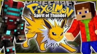 Download ELITNÍ ČTYŘKA A FINÁLNÍ ŠAMPIÓN! - Minecraft Pixelmon: Spirit of Thunder FINÁLE w/Porty! Video