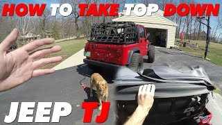 Download How to Take the Top Down | Jeep TJ Video