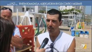 Download Riviera Romagnola, albergatori in rivolta contro i migranti Video