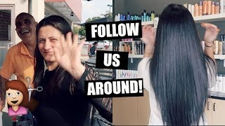 Download FOLLOW US AROUND: FAMILY TIME+ NEW HAIR! Video