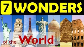 Download 7 wonders of the World | Update your General Knowledge Video