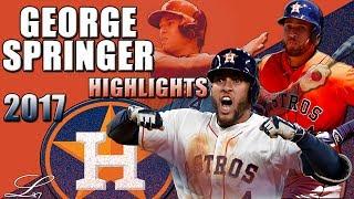 Download George Springer 2017 Highlights || Houston Astros All Star || ᴴᴰ Video