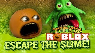 Download Roblox: ESCAPE THE SLIME! [Annoying Orange Plays] Video