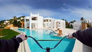 Download RIDING BMX IN A LUXURY MANSION ON IBIZA! Video