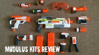 Download Nerf N-Strike Modulus Kits Unboxing & Review Video