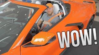 Download STUNNING First Look of 2020 Corvette C8! Sebring Orange, 3LT, Z51 Package! Video
