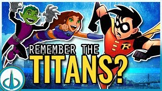 Download The DCAU TITANS - Who Are They?   Watchtower Database Video