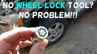 Download HOW TO REMOVE WHEEL LOCKS WITHOUT A KEY TOOL Video