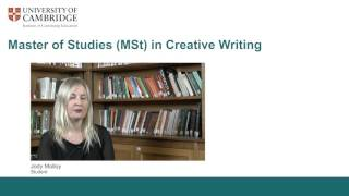 Download Cambridge's MSt in Creative Writing Video