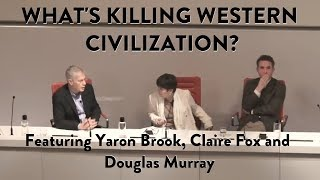 Download What Is Killing Western Civilization? With Douglas Murray, Claire Fox and Yaron Brook Video