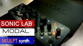 Download Modal Skulpt - 4 Voice Virtual Analog Synthesizer Review - Sonic LAB Video