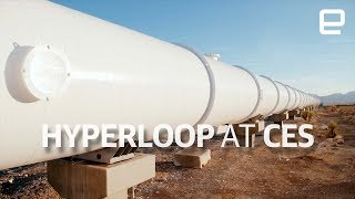 Download Hyperloop test track tour at CES 2018 Video