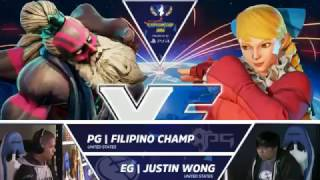Download SFV: EG Justin Wong vs PG Filipino Champ - Capcom Cup 2016 Day 1 Top 32 - CPT2016 Video